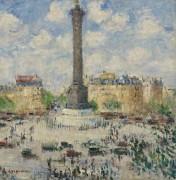 Площадь Бастилии, 1927 - Луазо, Гюстав