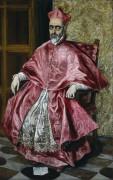 Портрет кардинала - Греко, Эль