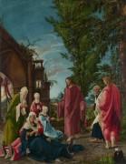 Христос прощается с матерью - Альтдорфер, Альбрехт