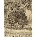 Парк с ограждой (Park with Fence), 1888 - Гог, Винсент ван