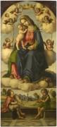 Мадонна с младенцем во славе - Фаэнца, Джованни Баттиста да