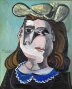 Женщина в шляпке - Пикассо, Пабло