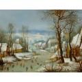 Зимний пейзаж с ловушкой для птиц - Брейгель, Ян (Старший)
