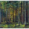 Еловый лес - Шишкин, Иван Иванович