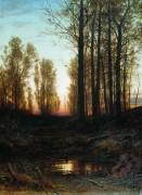 Сумерки, 1874 - Шишкин, Иван Иванович