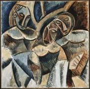 Три фигуры под деревом - Пикассо, Пабло