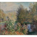 Monet, Claude - Corner of the Garden at Montgeron - Моне, Клод