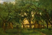 Ферма близ Онфлёра - Коро, Жан-Батист Камиль