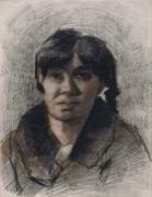 Портрет женщины (Portrait of a Woman), 1885 - Гог, Винсент ван