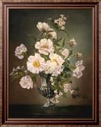 Цветы в серебряной вазе - Кеннеди, Сесиль