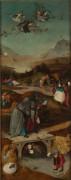 Искушение святого Антония, левая створка триптиха - Босх, Иероним (Ерун Антонисон ван Акен)