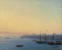 Рассвет над Константинополем - Айвазовский, Иван Константинович