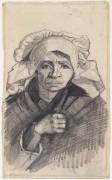 Голова женщины (Head of a Woman), 1884-85 13 - Гог, Винсент ван