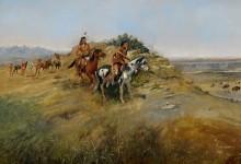 Охота на бизонов - Рассел, Чарльз Марион