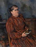 Портрет женщины - Сезанн, Поль