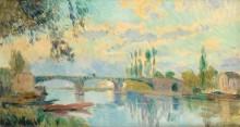 Мост в Шато, 1905 - Лебург, Альберт