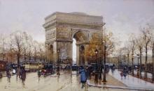 Триумфальная арка в Париже - Гальен-Лалу, Эжен