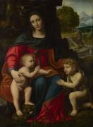 Мадонна с младенцем и святой Иоанн - Луини, Бернардино