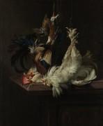 Натюрморт с домашней птицей - Алст, Виллем ван
