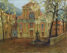Церковь Дольчеаква, 1911 - Сиданэ, Анри Эжен Огюстен Ле
