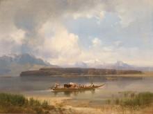 Озеро Кимзе осенью - Ханш, Антон