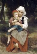 Брат и сестра - Бугро, Адольф Вильям