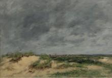 Дюны в Берке, 1886 - Буден, Эжен