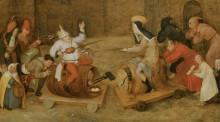 Битва Масленицы и Поста - Брейгель, Питер (Старший)
