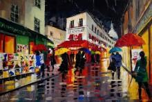 Зонтики на Монмартре