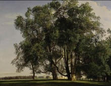 Пейзаж около Пратера -  Вальдмюллер ,Фердинанд Георг