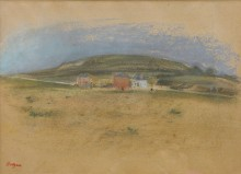 Дома около Клиффса, 1869 - Дега, Эдгар