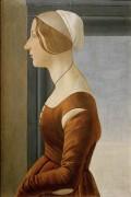 Портрет женщины - Боттичелли, Сандро