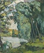 Пейзаж в Лез-Андели - Вальта, Луи