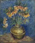 Цветы в медной вазе (Crown Imperials in a Сopper Vase), 1887 - Гог, Винсент ван