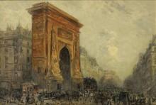 Париж, Порт-Сен-Дени, 1905 - Боггс, Фрэнк Майерс