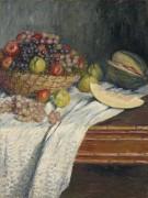 Натюрморт с испанской дыней - Моне, Клод