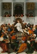 Двенадцатилетний Иисус проповедует в храме - Маццолино, Лудовико