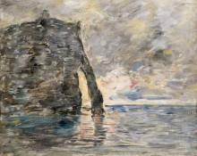 Скалы в Этрета - Буден, Эжен