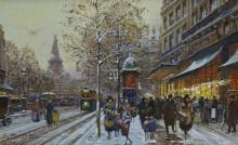 Площадь Республики в Париже - Гальен-Лалу, Эжен