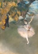Звезда балета на сцене - Дега, Эдгар