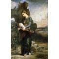 Фракиянка с головой Орфея - Моро, Гюстав