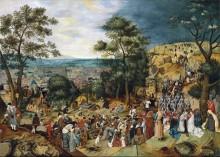 Путь на Голгофу - Брейгель, Питер (Младший)