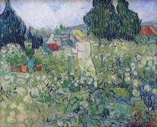 Маргарита Гаше в саду (Marguerite Gachet in the Garden), 1890 - Гог, Винсент ван