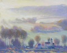 Аллея в Живерни, 1903 - Батлер, Теодор