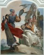Смирение, пренебрегающее гордостью - Тьеполо, Джованни Баттиста