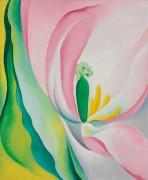 Розовый тюльпан - О'Кифф, Джорджия