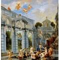 Богини и нимфы после купания - Йорданс, Якоб