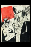 Портрет Максима Горького.1920 - Анненков, Юрий Павлович