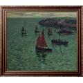 Море с Пинначес, 1897 - Море, Анри