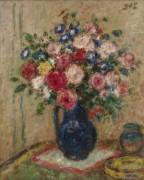Розы и вьюнки - д'Эспанья, Жорж